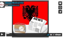 Global Medical Aid i Albanernes radio