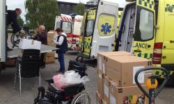 Vejle-ambulancer til Ukraine